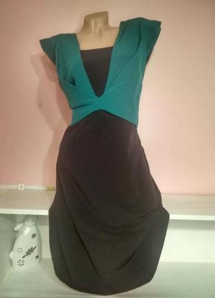 Платье с шифоном