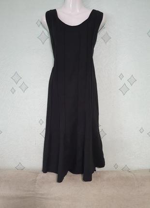Лен,вискоза.платье с натуральной ткани