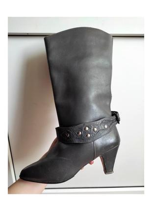 Шкіряні чобітки 37 р. ( 24 см)