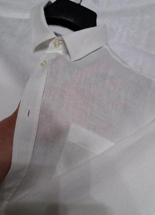 Рубашка 100%лён, оригинал