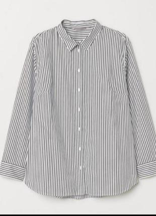 Актуальная рубашка в полоску