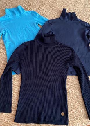 Комплект подростковых свитеров-водолазок