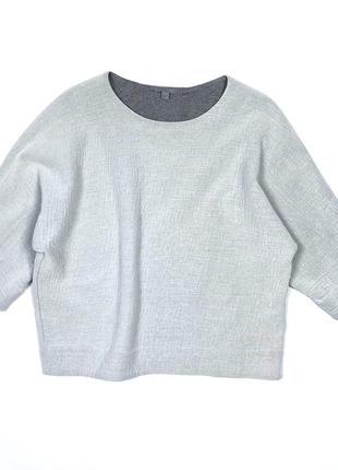 Cos оверсайз футболка  текстурная топ s