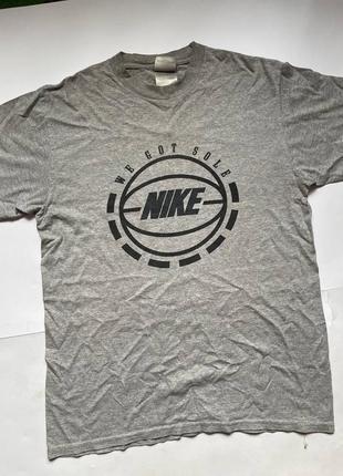 Nike футболка vintage спортивная