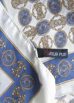 Шелковый платок natur pur
