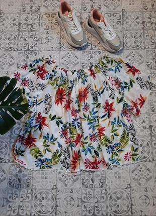 Очень нежная, красивая натуральная блуза бол.размераasista