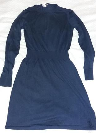 H&m платье с рукавом размер l