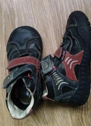 Ботинки кожа