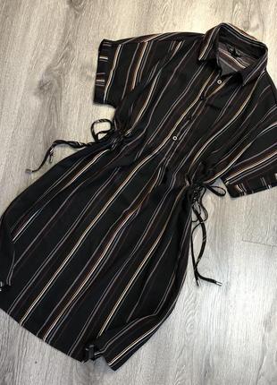 Красивое платье в полоску new look
