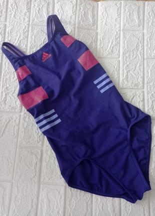 Спортивный купальник сдельный adidas р.44-46