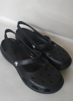 Босоножки сабо crocs оригинал