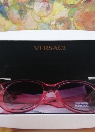Эксклюзивные брендовые шикарные розовые солнцезащитные женские очки c фирменным футляром 20213 фото