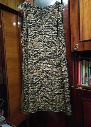 Летнее платье шелк рр 38