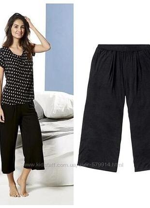 Распродажа, летние укороченные  кюлоты/ бриджи/капри/штаны/ юбка- брюки летние легкие размер s и m.