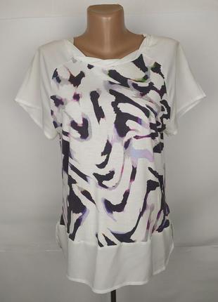 Блуза трикотажная стильная оригинал calvin klein s
