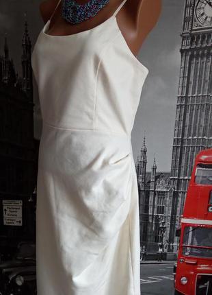 Американська ніжна пудрова трикотажна бандажна сукня