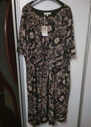 Красивое платье, размер 60-62