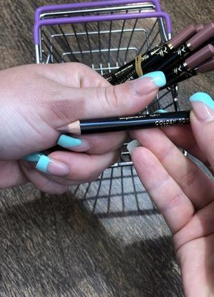 Новый карандаш для губ матовый нюд