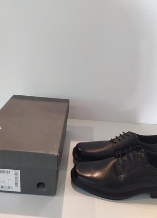 Ecco helsinki туфлі чоловічі 42р. 27см шкіра