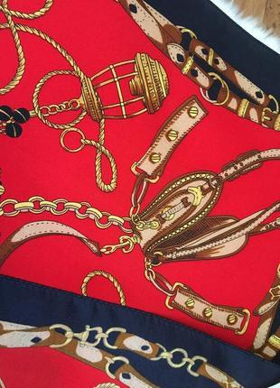 100% шёлк платок шелковый бандана