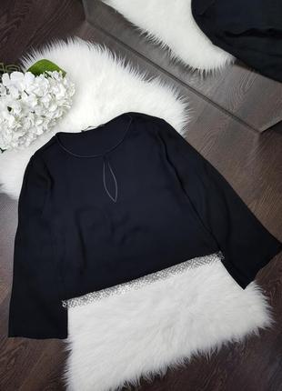 Блуза с длинным рукавом zara