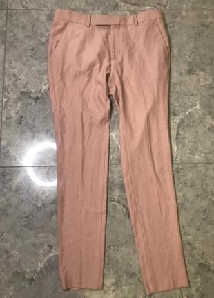 🆘🔥 ликвидация товара🆘🔥    нежно розовые мужские брюки