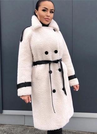 Акция!!! роскошное пальто из овчины3 фото