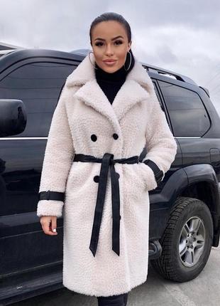 Акция!!! роскошное пальто из овчины1 фото