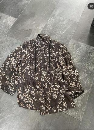 Блуза зара