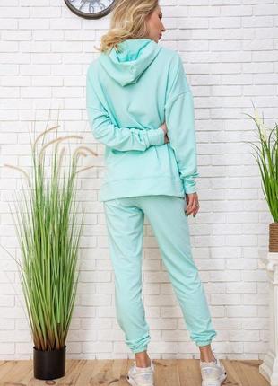 Спортивный костюм, цвет мятный3 фото