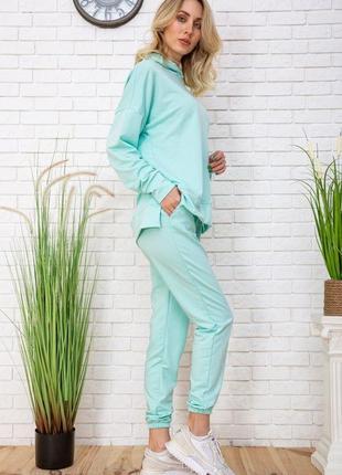 Спортивный костюм, цвет мятный2 фото