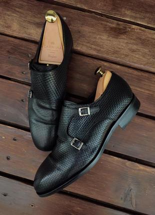 Модельные туфли монки massimo dutti из плетёной кожи monki