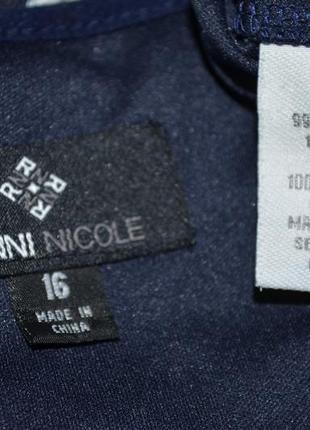 Нарядное платьице в мелкий рюш от бренд onni nicole5 фото
