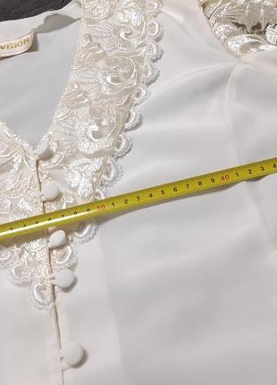 Блузка винтаж 80-е6 фото