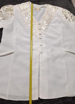 Блузка винтаж 80-е5 фото