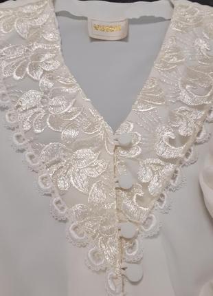 Блузка винтаж 80-е3 фото