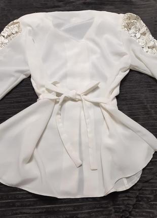 Блузка винтаж 80-е4 фото