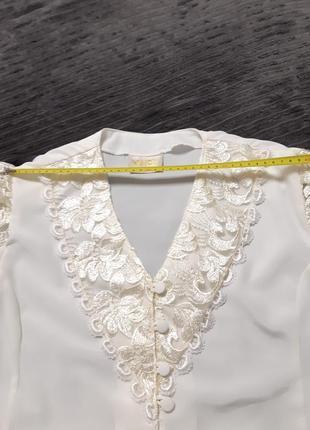 Блузка винтаж 80-е7 фото
