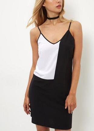 Монохромное платье в бельевом стиле new look p.s