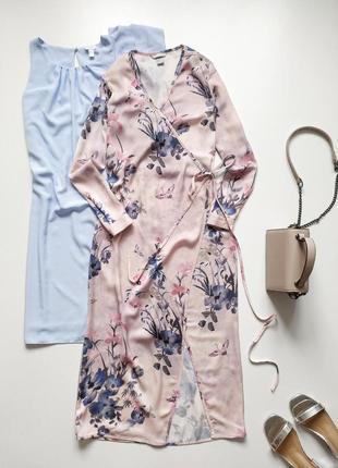 Невероятное платье на запах h&m p.s