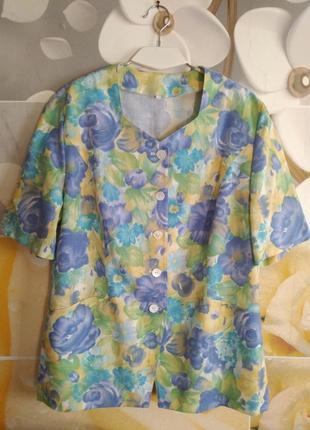 Яркий красивый пиджак oberstoff