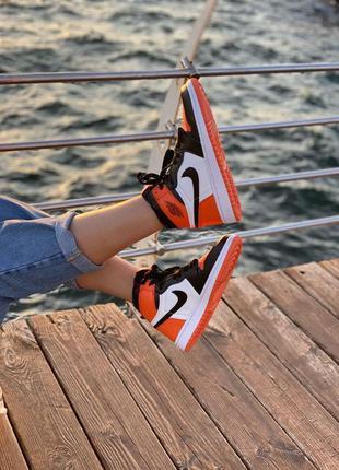 🌸 жкнские кроссовки nike air jordan 1