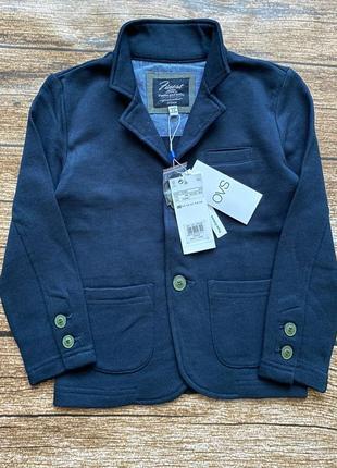 Трикотажный пиджак 104, 110, 116, 122, 128 см. ovs италия, 3-4, 5-6, 6-7 next