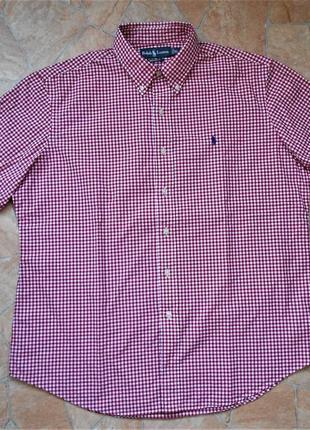 Рубашка polo ralph lauren размер xl (54-56) оригинал