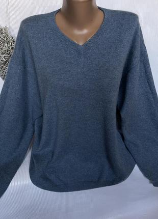 Шикарный нежный свитер 100% кашемир