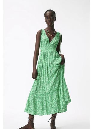 Шикарное платье zara зара сукня сарафан