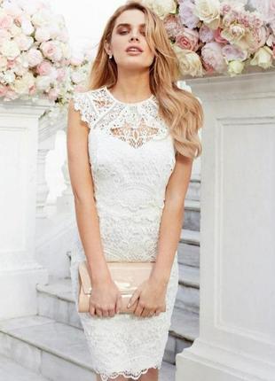 Шикарное свадебное платье выпускное платье кружевное платье вечернее платье кружево ажур