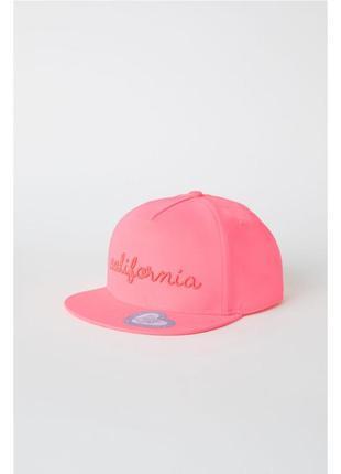 Кепка для дівчинкі h&m 55-56+ см розовая