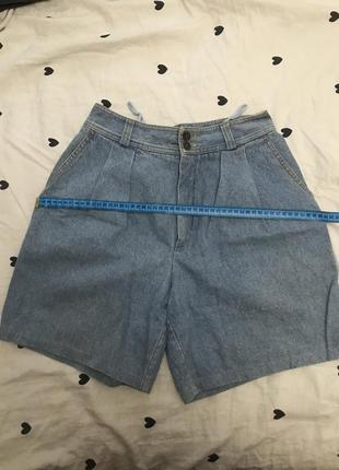 Винтажные джинсовые шорты