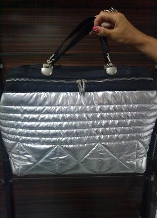 Яркая сумка silver